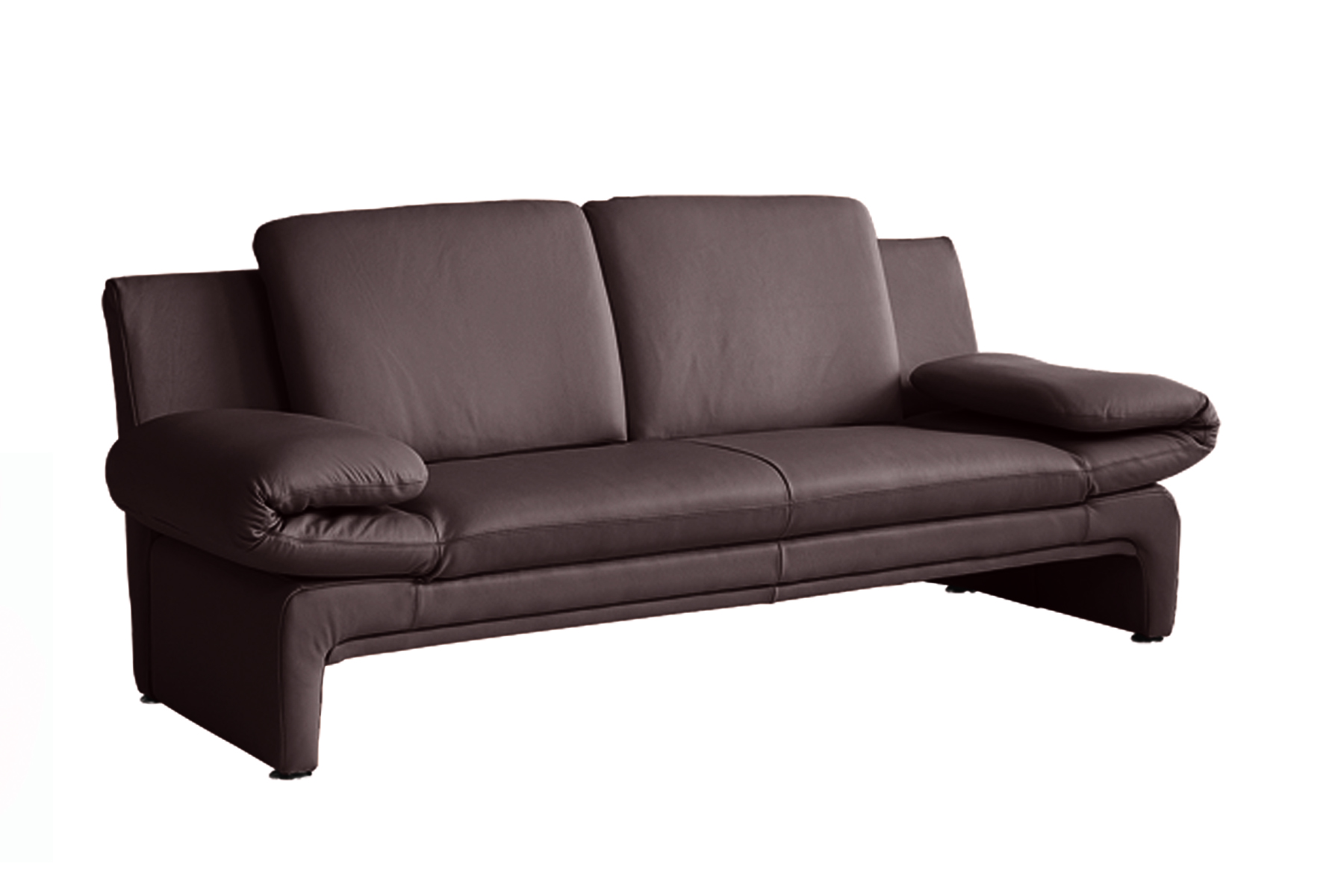 echt dick leder sofa couch garnitur funktionssofa capri 2 sitzer oder 3er neu ebay. Black Bedroom Furniture Sets. Home Design Ideas
