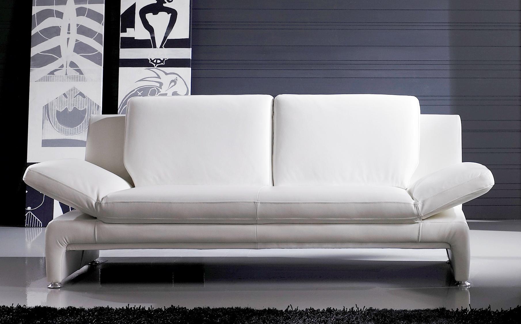 Echt Leder Sofa Couch Garnitur Funktionssofa o V1 2 Sitzer oder 3er NEU